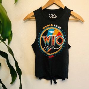 Chaser The Who World Tour Muscle Tank Top